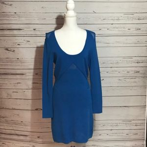 🌹Just in - Yigal Azrouël dress in cobalt blue, L